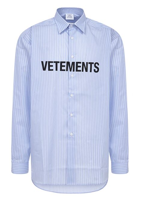 Camicia Vetements VETEMENTS | -1043906350 | UE51SH300SLIGHTBLUE