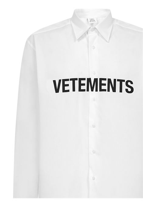 Camicia Vetements VETEMENTS | -1043906350 | UE51SH300WWHITE