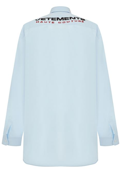 Camicia Vetements VETEMENTS | -1043906350 | UE51SH800LLIGHTBLUE