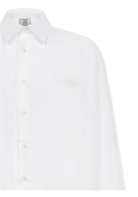 Camicia Vetements VETEMENTS | -1043906350 | UE51SH800WWHITE