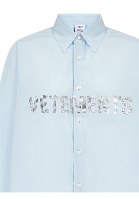 Camicia Vetements VETEMENTS | -1043906350 | UE51SH910BLIGHTBLUE