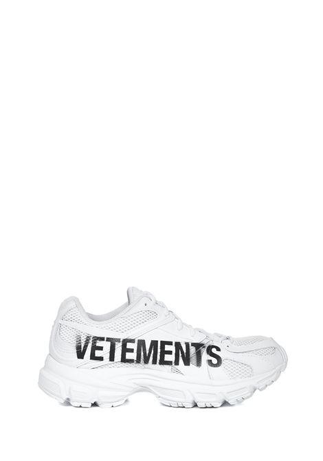 Vetements Runner Spike Sneakers VETEMENTS | 1718629338 | UE51SN200WWHITE