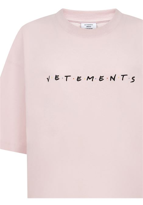 Vetements T-shirt Vetements | 8 | UE51TR340PBABYPINK