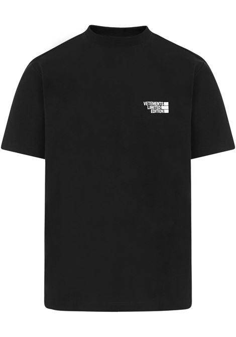 Vetements T-shirt Vetements | 8 | UE51TR720BBLACK
