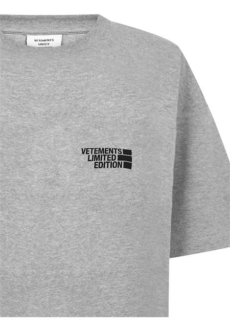 T-shirt Vetements VETEMENTS | 8 | UE51TR720GGREY
