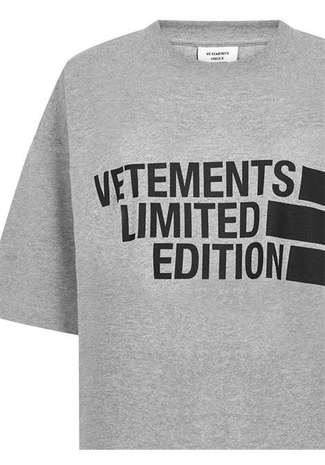 Vetements T-shirt VETEMENTS | 8 | UE51TR810GGREY