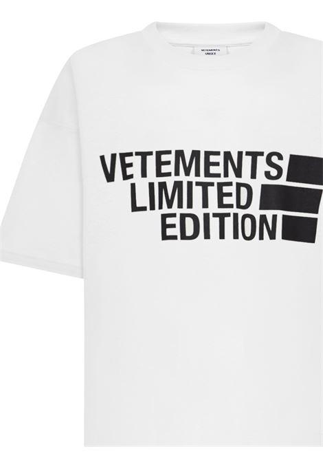 Vetements T-shirt VETEMENTS | 8 | UE51TR810WWHITE