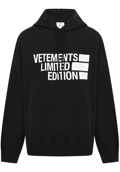 Vetements Sweatshirt Vetements | -108764232 | UE51TR820BBLACK
