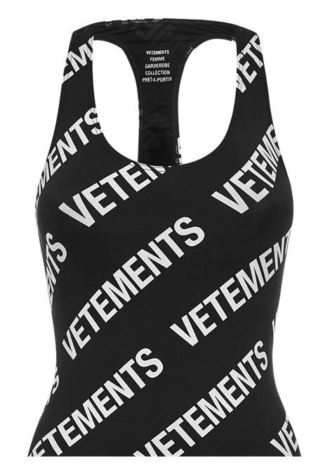 Vetements Dress VETEMENTS | 11 | WE51DR650WBLACKWHITE