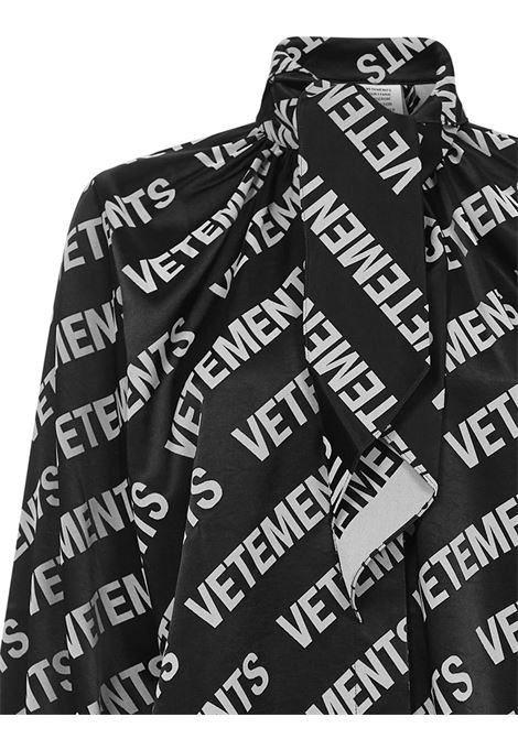 Vetements Shirt VETEMENTS | -1043906350 | WE51SH700BBLACKWHITE