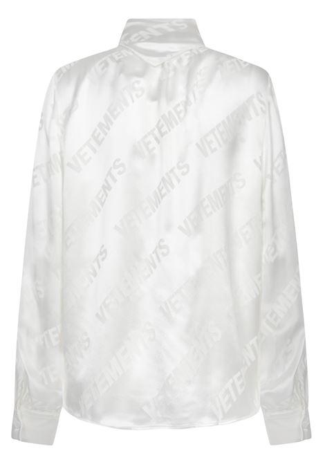 Vetements Shirt VETEMENTS | -1043906350 | WE51SH700WWHITE