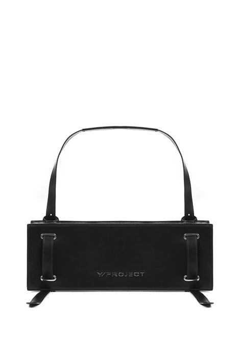 Y/PROJECT Accordion Baguette Shoulder Bag Y/PROJECT | 77132929 | WBAG6BLACK