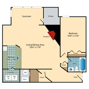 R441066-MC-894-161186CityCenter-1BR-SunroomFireplace-834.jpg