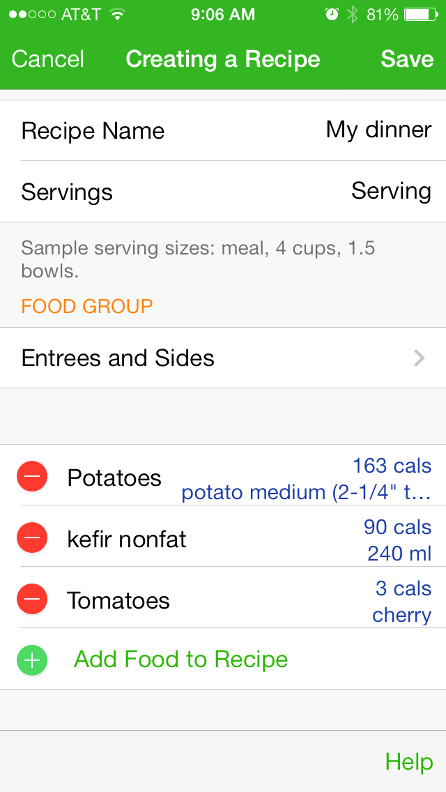 Best Food Diary App  For Gaining Weight