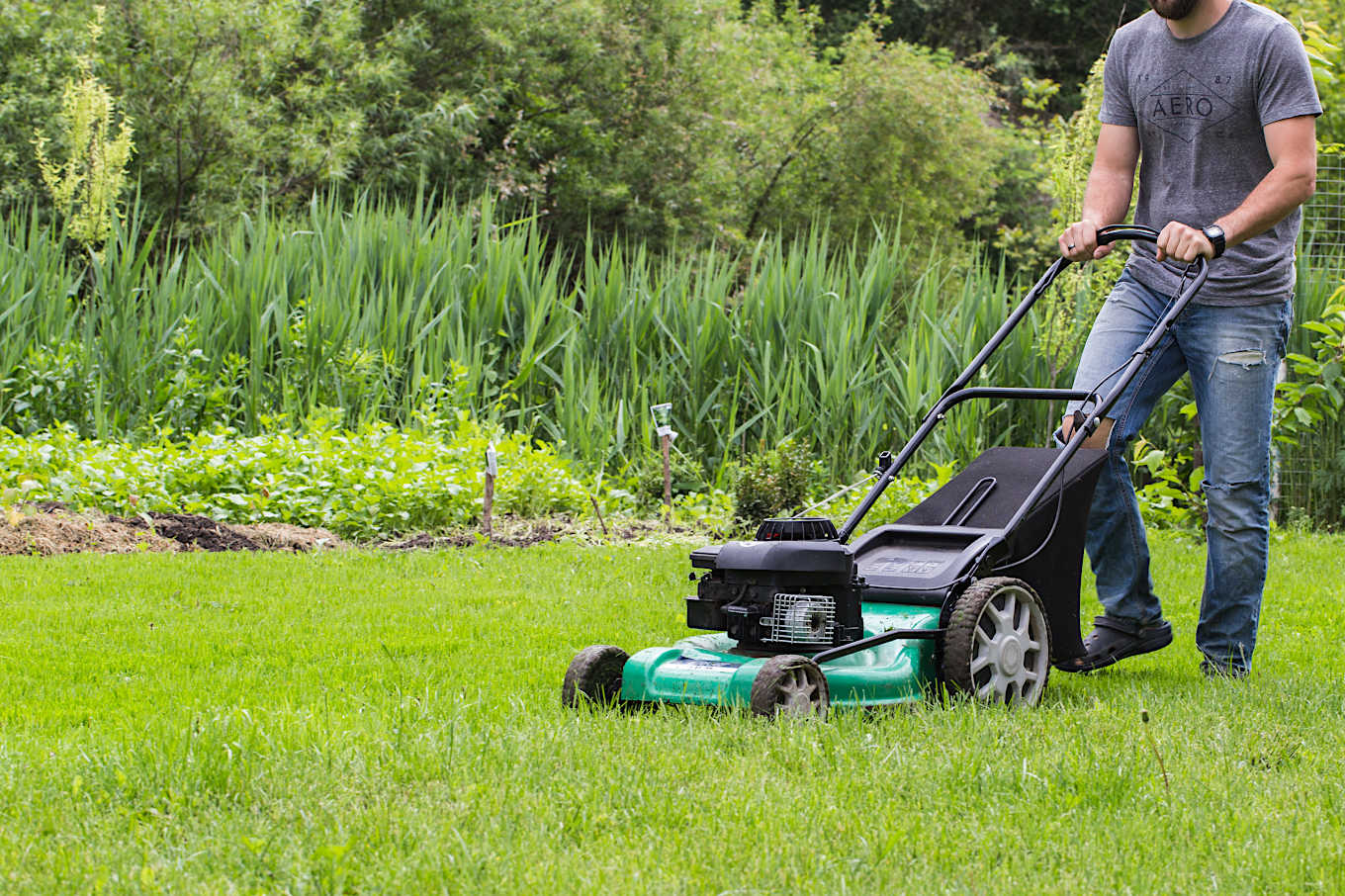 Are mowing and weeding exercise