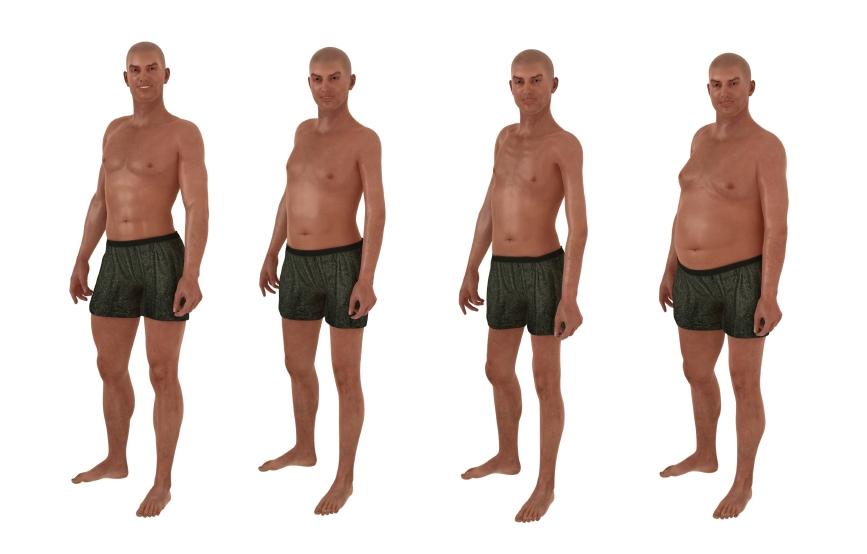 Average Male Body Fat 78