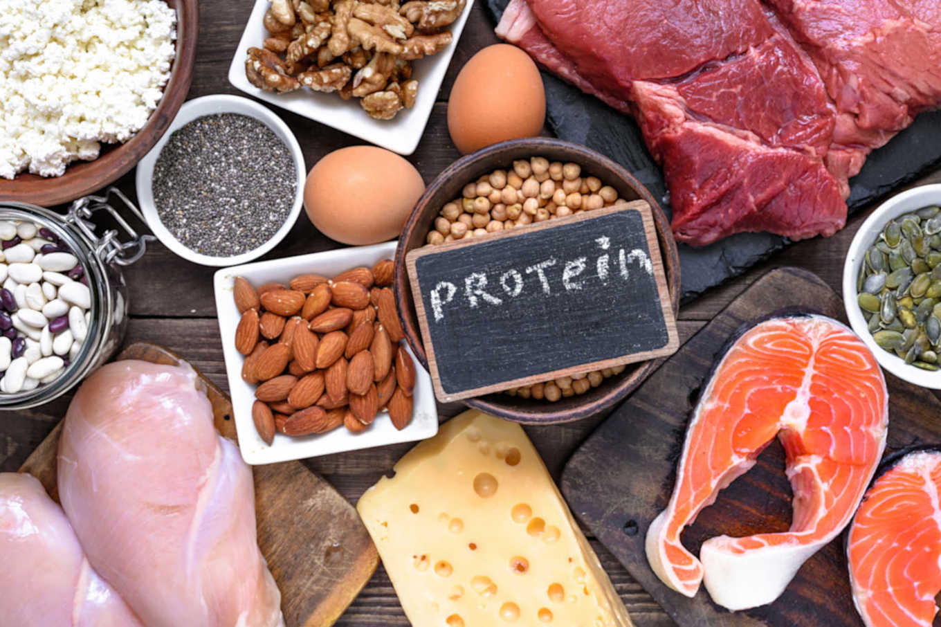 High-protein meals
