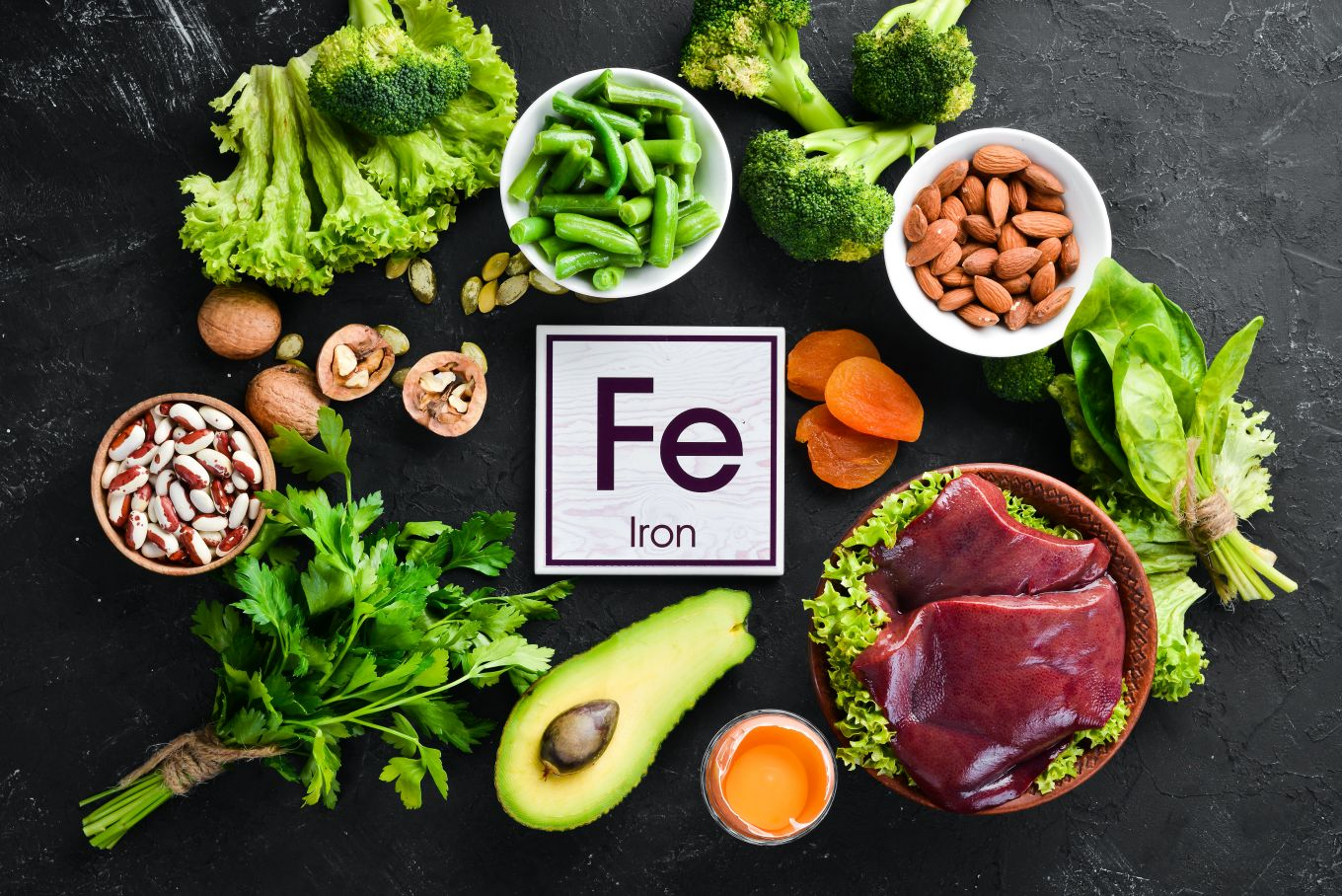 what foods provide iron in the diet