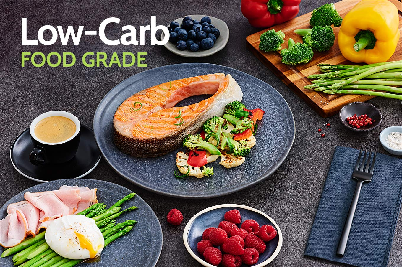 Healthy low-carb foods