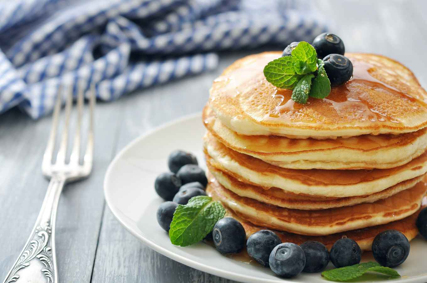 Healthy Quick Pancakes: Made at a Moment's Notice