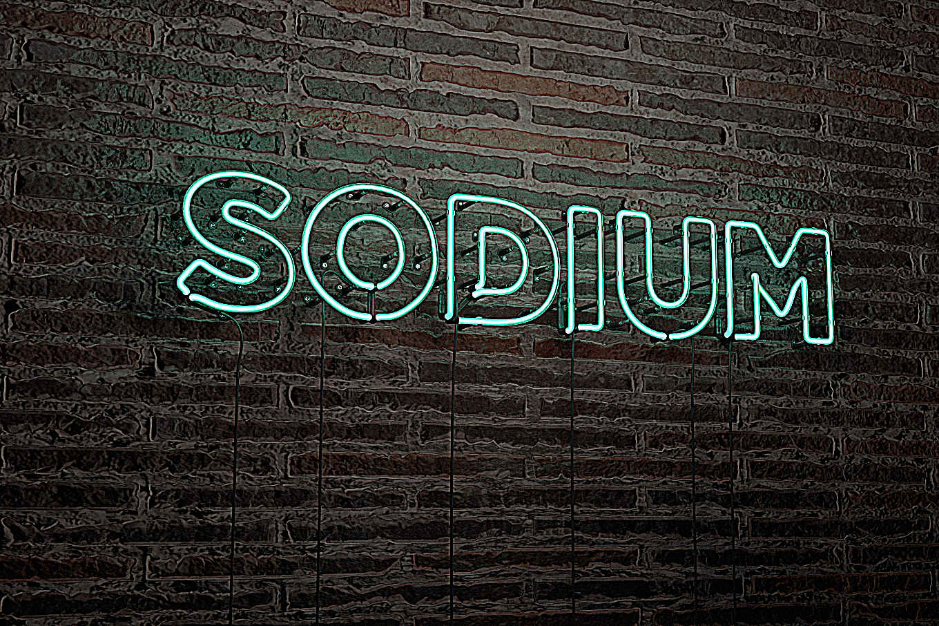 Sodium: Yes, it's a big deal