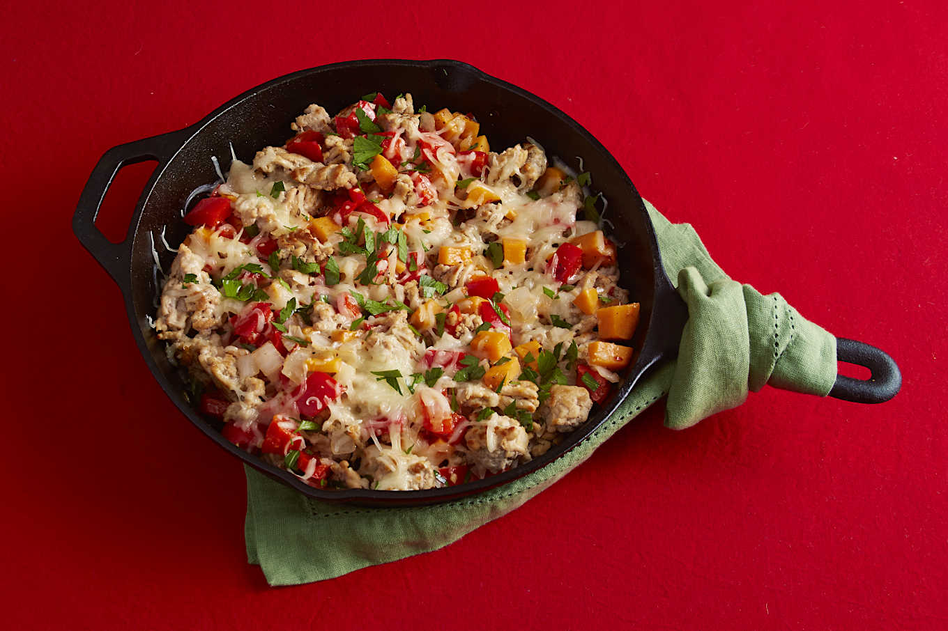 Easy turkey skillet dinner