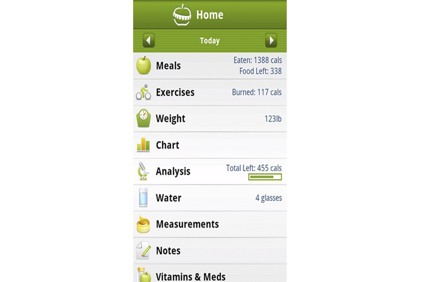 MyNetDiary Releases Calorie Counter PRO for Android