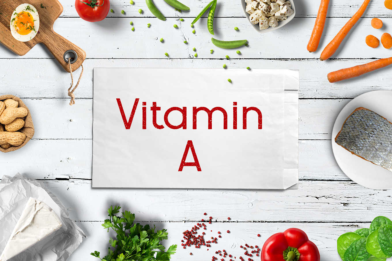 Vitamin A foods for skin