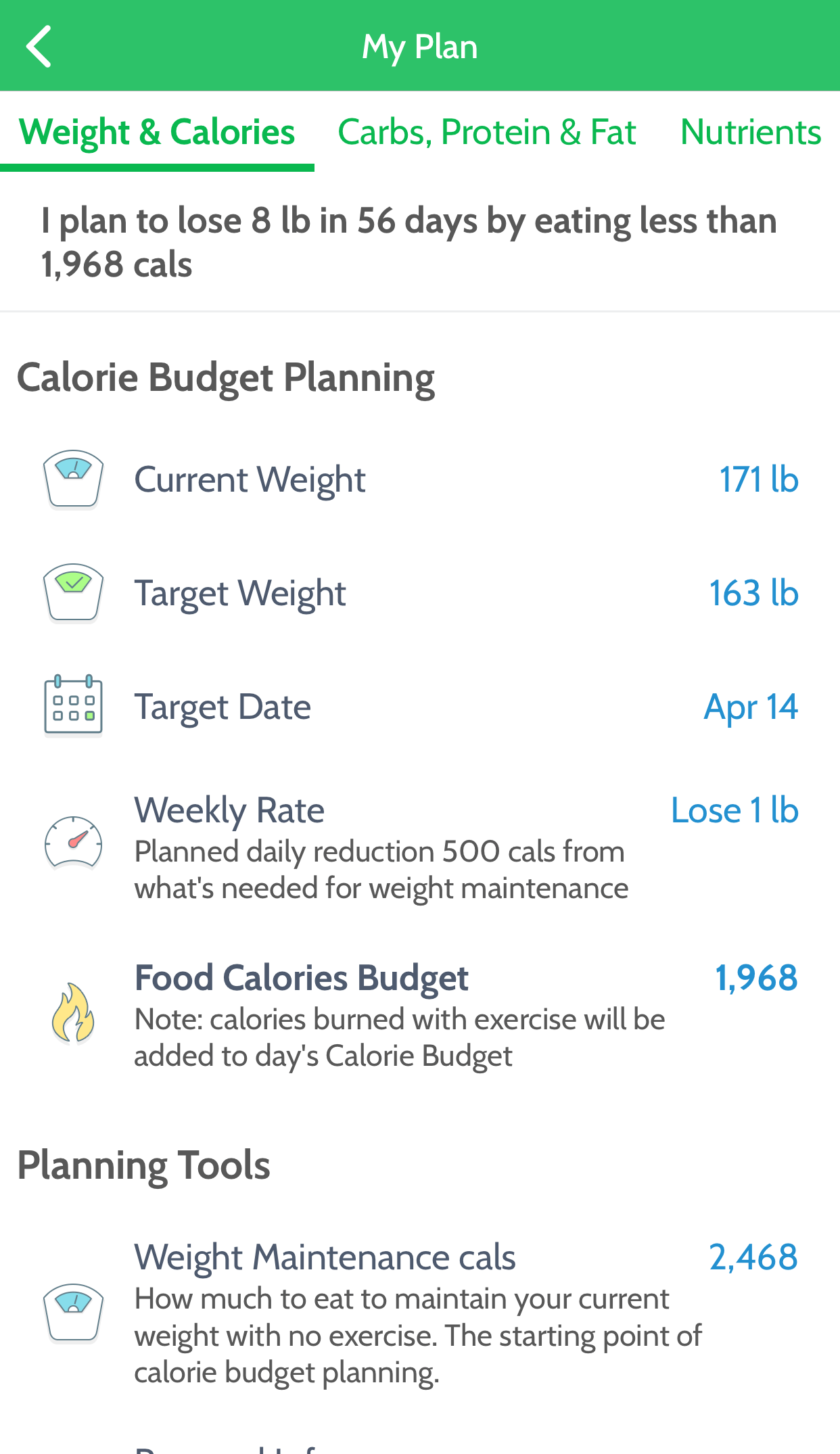 MyNetDiary - Free Calorie Counter and Diet Assistant for ...