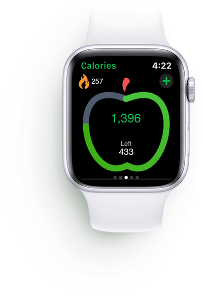 MyNetDiary calorie counter app for Apple watch app