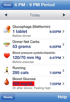 iPhone Diabetes Reports