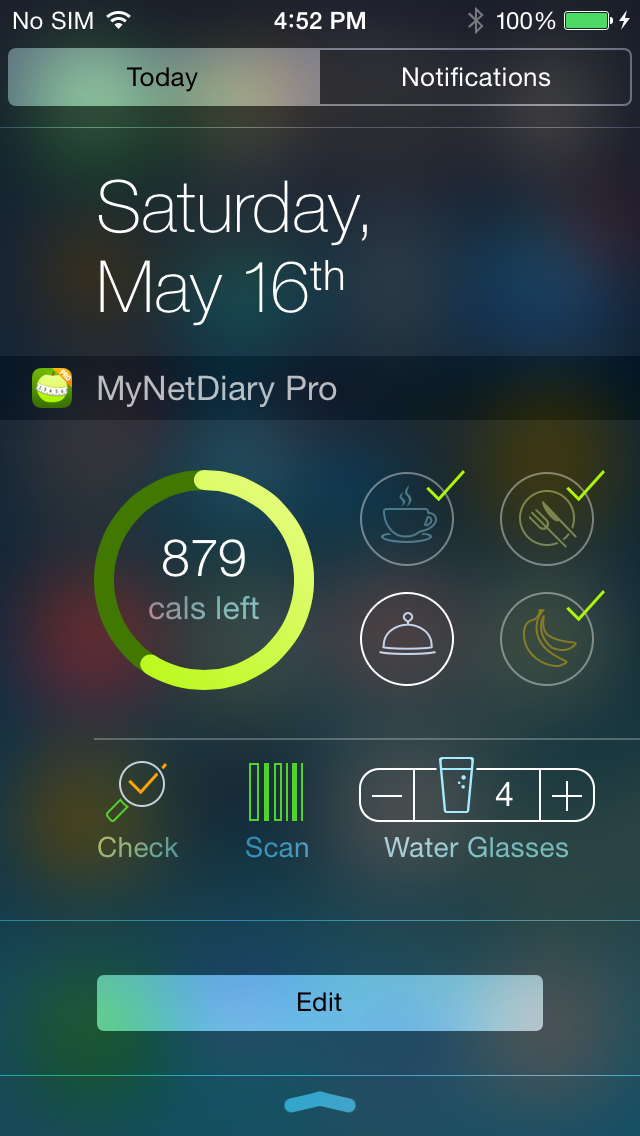 The Best iPhone Calorie Counter and Food Diary Mobile App ...