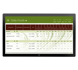Backed Up by MyNetDiary.com - with online, iPhone, Android, and BlackBerry diet tools