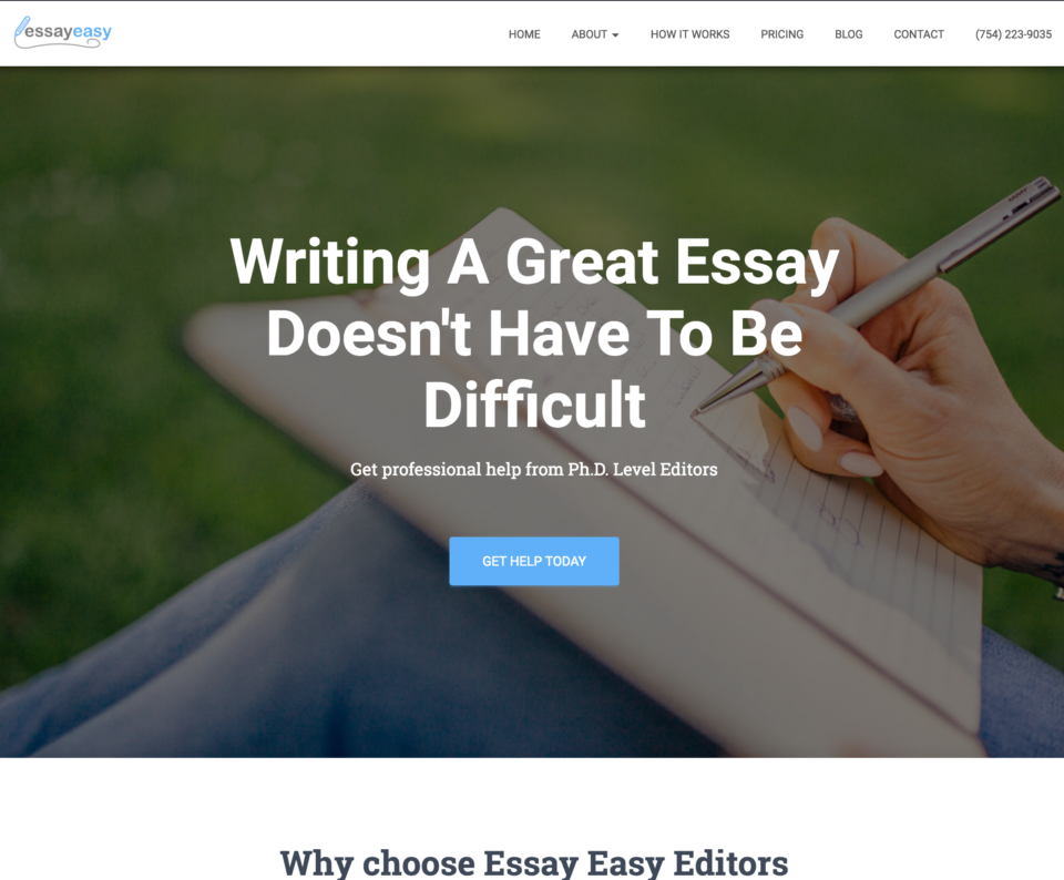 essay easy essay editors in florida - web design