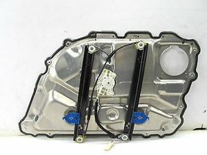 2004-2006 AUDI A8 L QUATTRO D3 OEM LEFT REAR WINDOW REGULATOR TRACK W/ PANEL