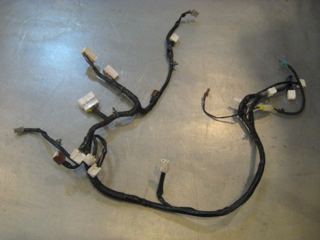08 Infiniti G37 Lh Driver Seat Wiring Harness 185q0 A2411