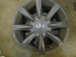 2003 Infiniti M45 Plasti Dipped Wheel 18