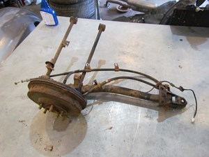 Subaru Forester Rear Spindle Parts