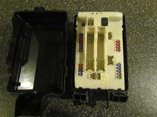 2008 infiniti g37 coupe ipdm fuse box 284b7jk00a in avon, mn 56310 pb#291741