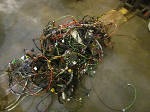 1997 Audi A8 D2 Body Wire Harness-Read Description