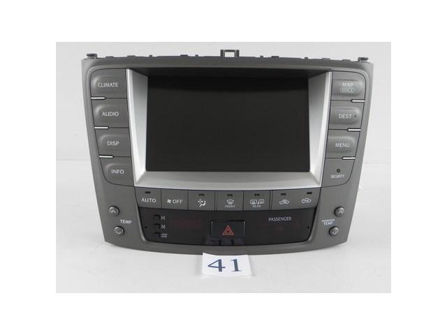 lexus is250 navigation unit