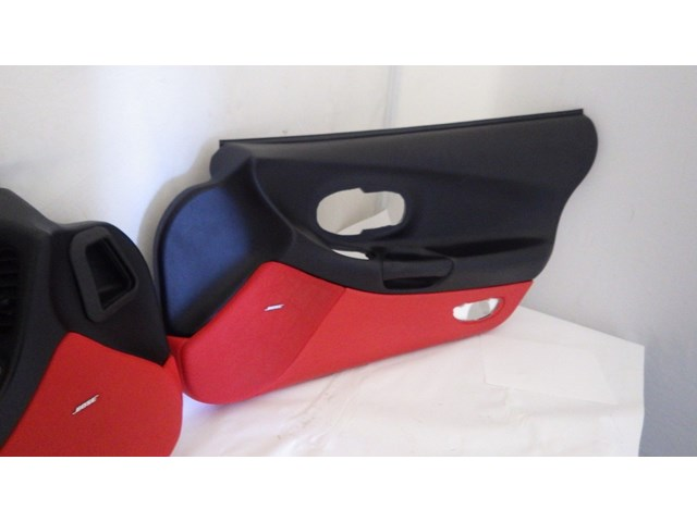 1997 2004 C5 Z06 Corvette Door Panels Oem Black Red