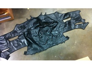 1997-2004 C5 Corvette Front Bumper Leather Bra