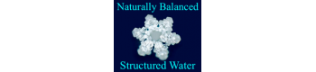 Naturally Balanced Structured Water