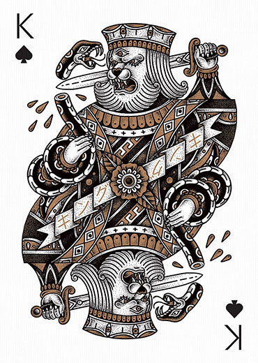 King Of Spades By Yeaaah Studio Edition Two Playing Arts