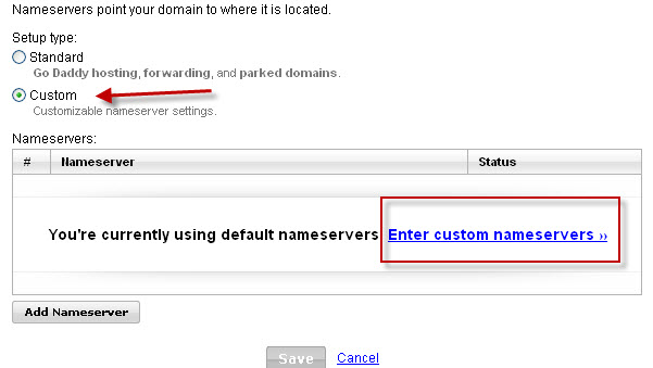 Setting the CNAME DNS Record on CloudFlare To Map My Own Domain To