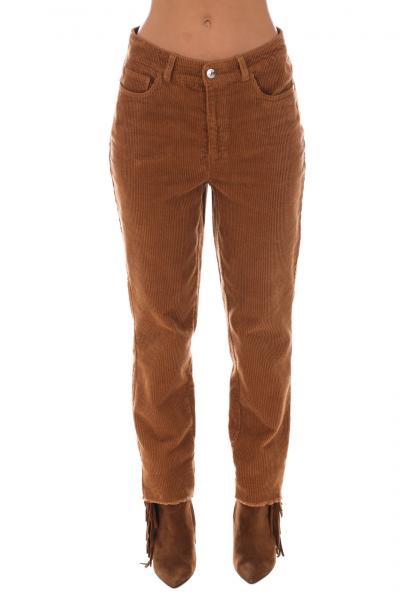 ONLY Pantalone ampio Only  Pantaloni   15185741TOBACCOBROWN