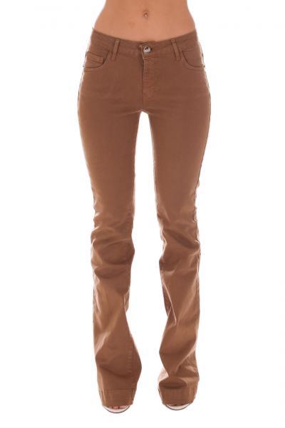 REVISE Pantalone A Zampa Revise  Pantaloni | FRD0400DTABACCO