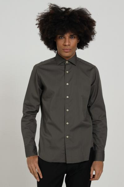 BRANCACCIO CARUSO Camicia uomo grigio brancaccio caruso elegante  Camicie | CDC1503