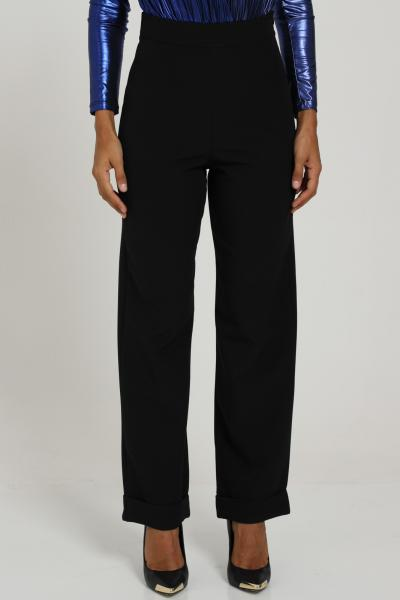 Pantalone Con Zip Laterale   Pantaloni   NEVADANERO